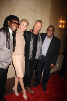 We Are Family Foundation Honors Sting and Trudie Styler with Humanitarian award at Manhattan Center ballroom