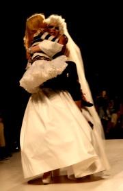 Fashion week wed. sept. 10, 2014 betsey johnson 143XXX