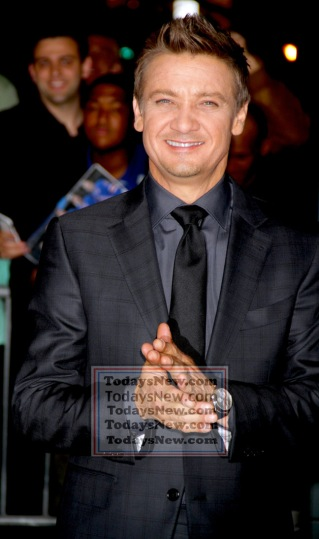 JEREMY RENNER at screening of ''Avengers:Age of Ultron'' at AVA Theatre w.23st 4-28-2015 John Barrett/Globe Photos 2015