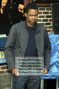 CHRIS ROCK at ''Live with David Letterman Show'' Final show 5=20-2015 John Barrett/Globe Photos 2015