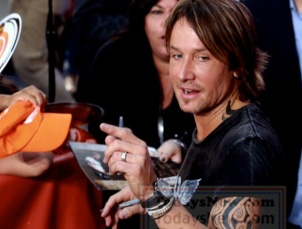 Keith Urban performs on NBC ''Today''Show at Rockefeller Plaza