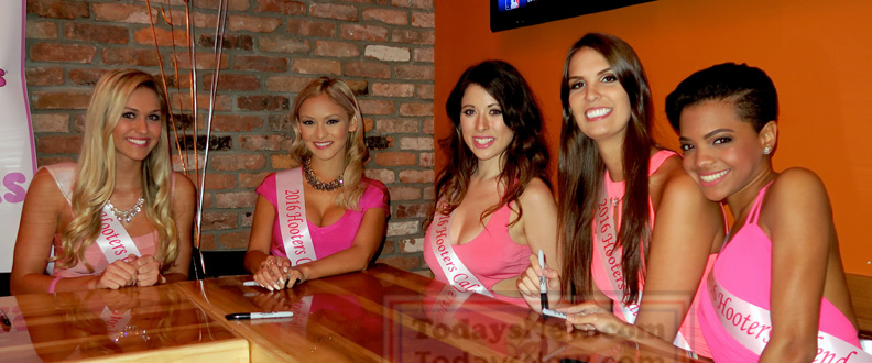 Hooters Calendar May : Hooters calendar launch event