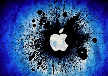 lovely-blue-apple-logo