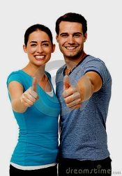happy-couple-showing-thumbs-up-sign-portrait-over-white-background-vertical-shot-39621200
