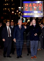 Bill Clinton and Marc Mezvinsky arrives at the Hillary Clinton fundraiser concert held at Radio City Music Hall in NYC. Photo by Ron Asadorian March 2, 2016