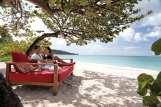 Relaxing on Grand Anse Beach - high res