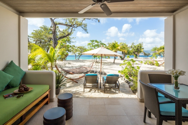 Seagrape Beach Suite Patio - high res