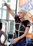 Gwen Stefani at NBC ''Today'' show concert series at Rockefeller Plaza