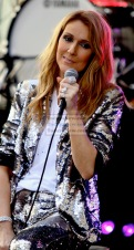 Celine Dion at NBC'' Today''Concert Series at Rockefeller Plaza