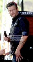Blake Shelton at NBC ''Today'' Concert Series at Rockefeller Plaza