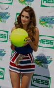 LAURA MARANO at Arthur Ashe Kid's Day at Tennis US Open in Flushing Meadow 8-27-2016 John Barrett/Globe Photos 2016