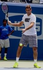 JUAN MARTIN dE POTRO at Arthur Ashe Kid's Day at Tennis US Open in Flushing Meadow 8-27-2016 John Barrett/Globe Photos 2016