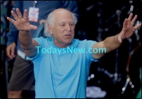 Jimmy Buffett at NBC'' Today'' show Concert Series at Rockefeller Plaza