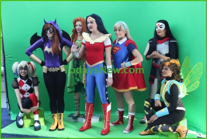 Costomes at NY Comic Con at Javits Center 10-7-2016 Photos by John Barrett/Globe Photos 2016