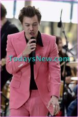 """Harry Styles performing on NBC """"""""TODAY""""""""show"""