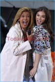 Hailee Steinfeld performing on NBC''Today'' show at rockefeller Plaza