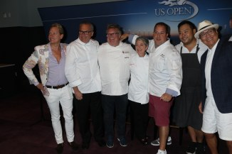 Tennis US Open food tasting Preview at Billie King Tennis Center,Flushing NY