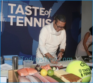 Citi Taste of Tennis at W hotel Lexington ave