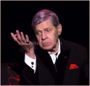 Jerry Lewis concert at Bergan Peforming Arts Center in Englewood New Jersey