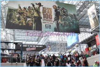 NY Comic Con day 3 at Javits Center
