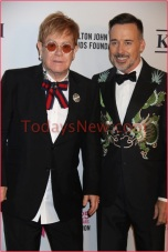 Elton John 25th AIDS Foundation Gala at The Cathedal of St John Divine
