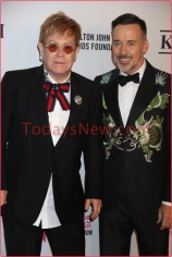 Elton John 25th AIDS Foundation Gala at The Cathedal of St John Divine