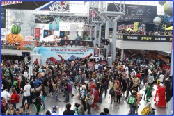 NY Comic Con day 3 at Javits Center